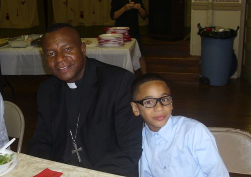 LEVI AND FR. BLESSING