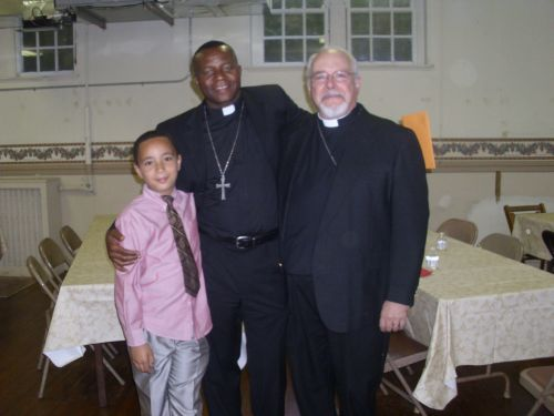Father Blessing and Big Blessing and Ven. Bruce